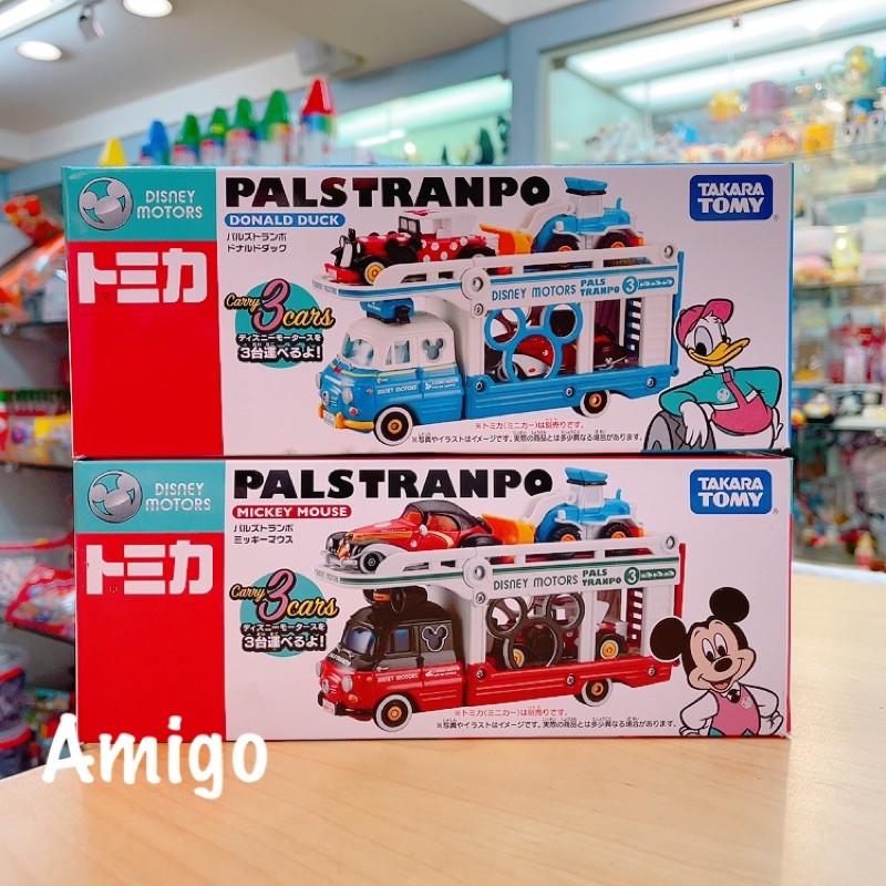 日本 迪士尼 tomica 多美 多美卡 米奇 唐老鴨 貨車 卡車 展示車 收納車 運輸車 多美車 多美小汽車