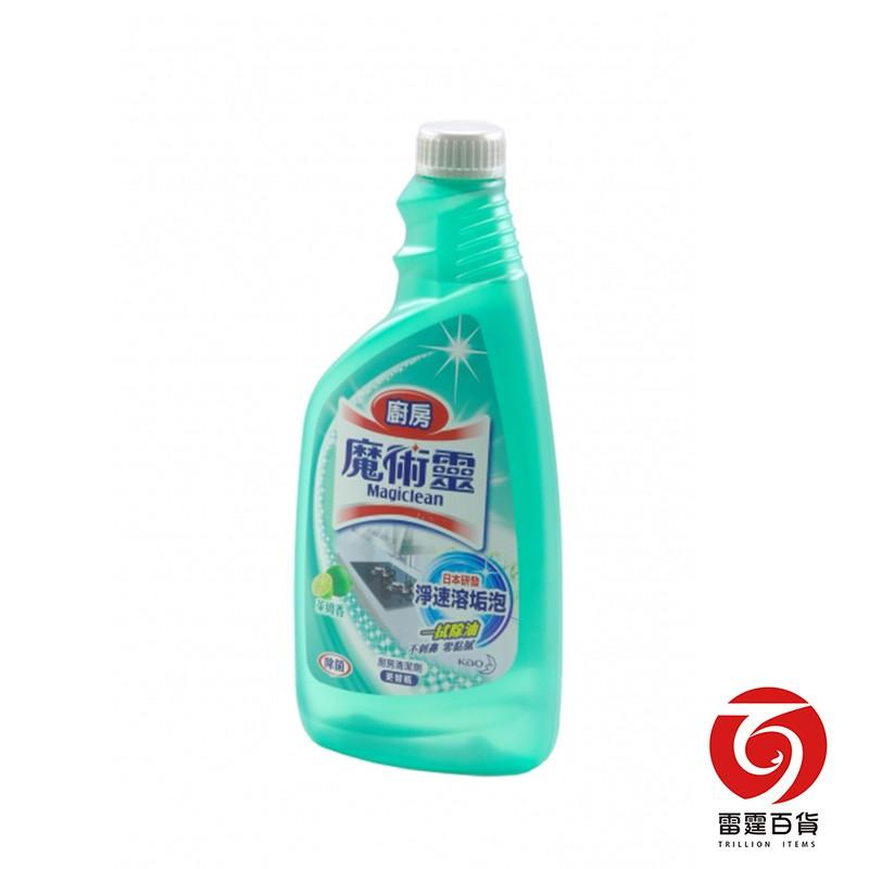 雷霆百貨 魔術靈廚房清潔劑 補充瓶500ml 清潔掃除 9651