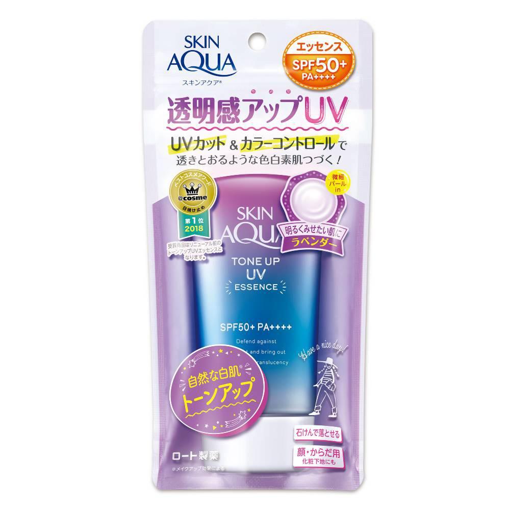 曼秀雷敦水潤肌柔光透亮防曬飾底凝露-薰衣草紫80g SPF50+ PA++++【康是美】