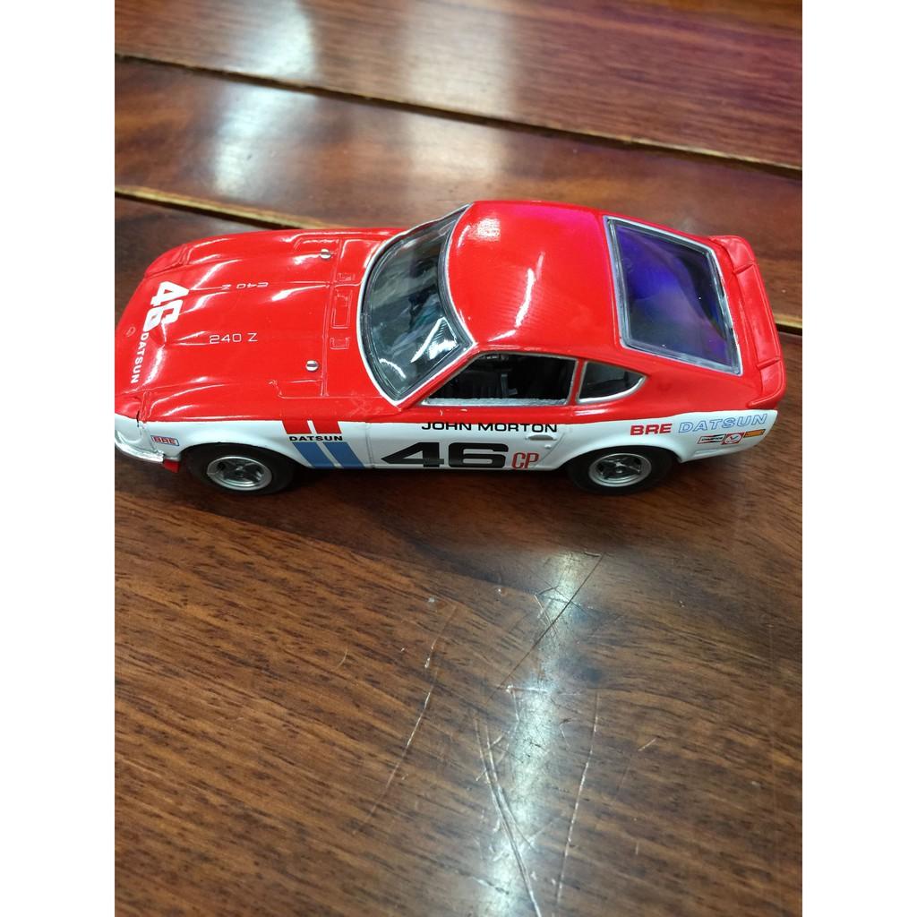 【模型擺件】1:43 DATSUN 240Z 曰產傳奇性能跑車-1970年車散包NJ18