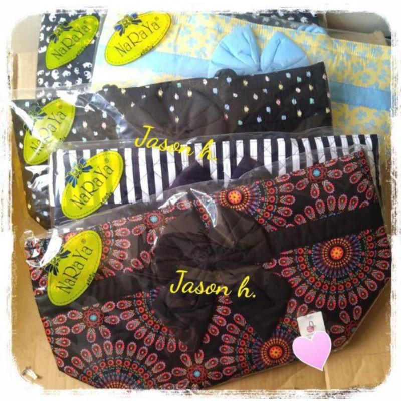 【新色現貨】全新@Naraya曼谷包水餃包/托特包/肩背包(L號/共5色)~可當旅行袋