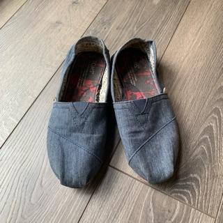 Toms 牛仔布懶人鞋 / 二手女鞋 台中市