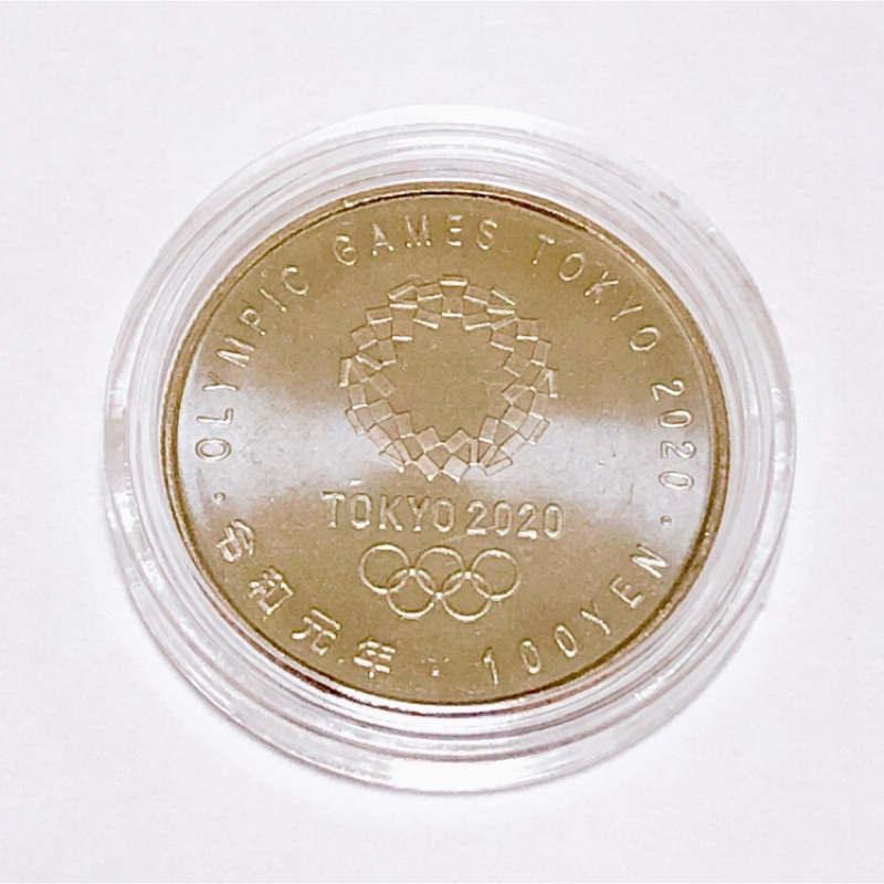 日本造幣局 奧林匹克 2020年 東京奧運 紀念幣 百元紀念幣