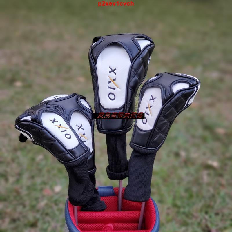 爽兒賣場推薦XXIO高爾夫木桿套 桿頭套 帽套球桿保護套 XX10球頭套高爾夫球桿