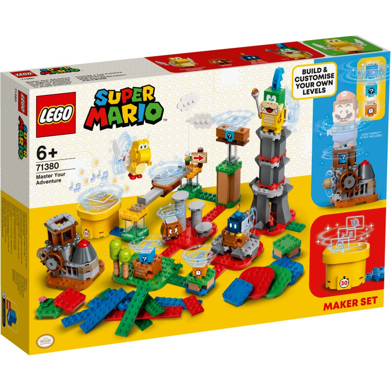 樂高 71380 超級瑪利歐 瑪利歐冒險擴充組 - LEGO Super Mario -