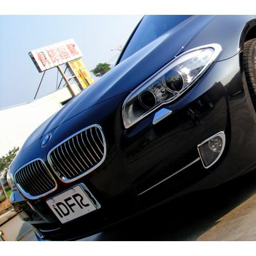 【JR 佳睿精品】10-16 BMW 寶馬 5 F10 520 528 530 鍍鉻頭燈框 大燈框 飾條 改裝 百貨