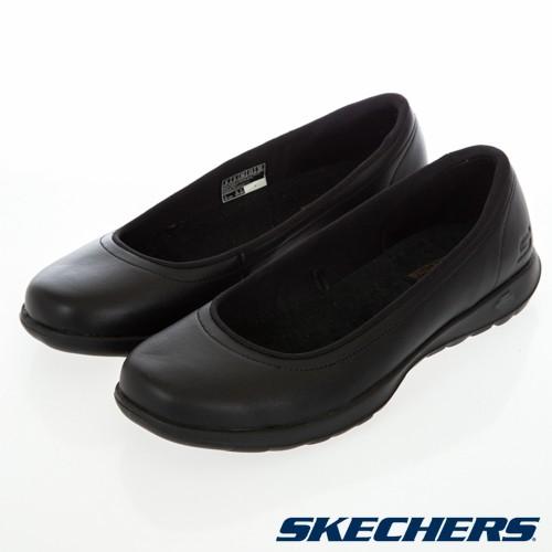 【RTG】SKECHERS GO WALK LITE 黑色 娃娃鞋 健走鞋 輕量 回彈 瑜珈鞋墊 女鞋 16371BBK