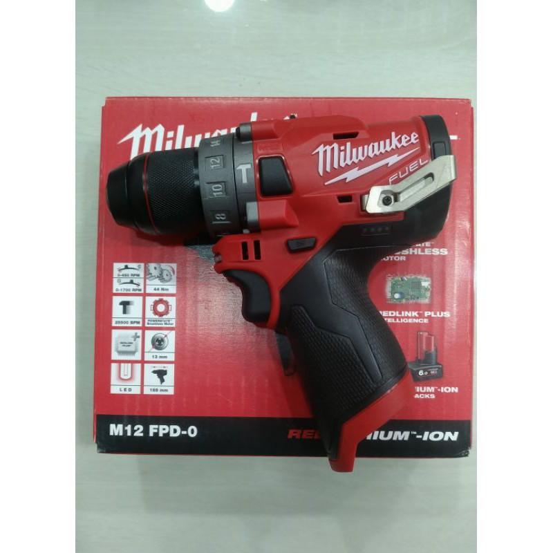 米沃奇 Milwaukee M12 FPD 無刷 三用 震動電鑽 夾頭電鑽