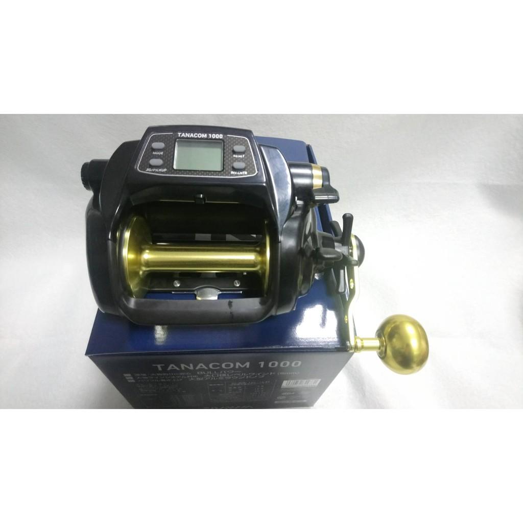 🔥【平昇釣具】🔥DAIWA TANACOM 黑寶 750型 1000型 電動輪 電動捲線器