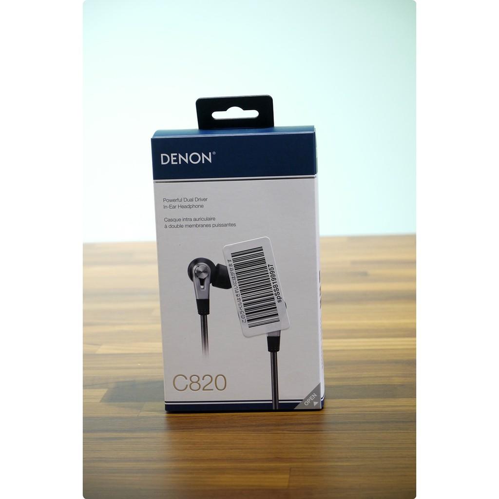 【Gshop】現貨_Denon C820/C821 in-Ear 入耳式 耳機