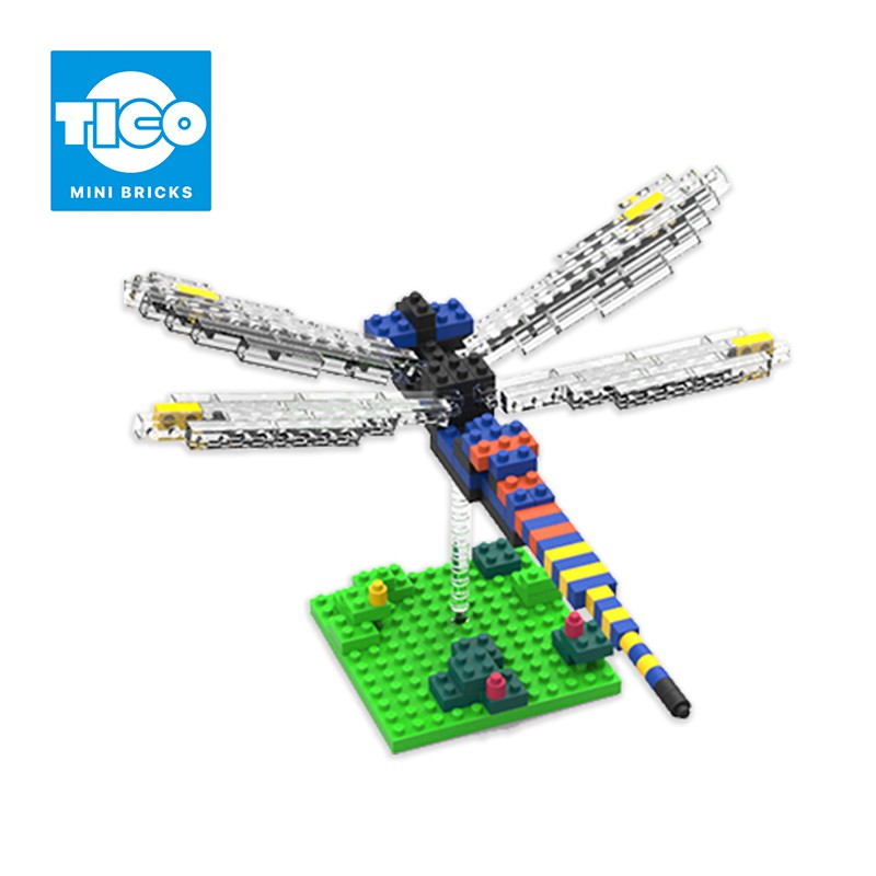 TICO微型積木 昆蟲系列 蜻蜓(T-9528)