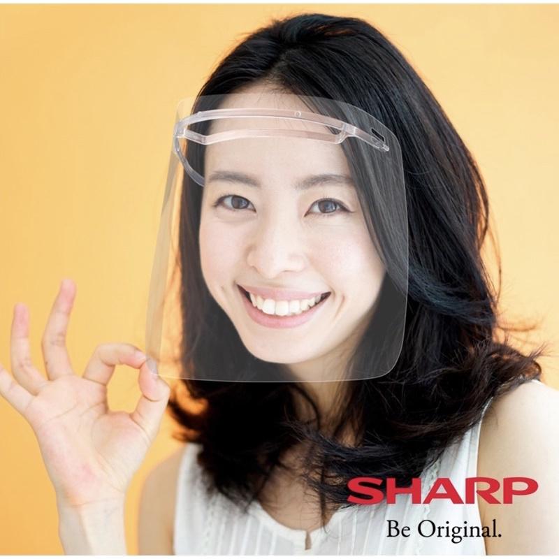 夏普SHARP奈米蛾眼科技防護面罩 全罩式 膠框系列