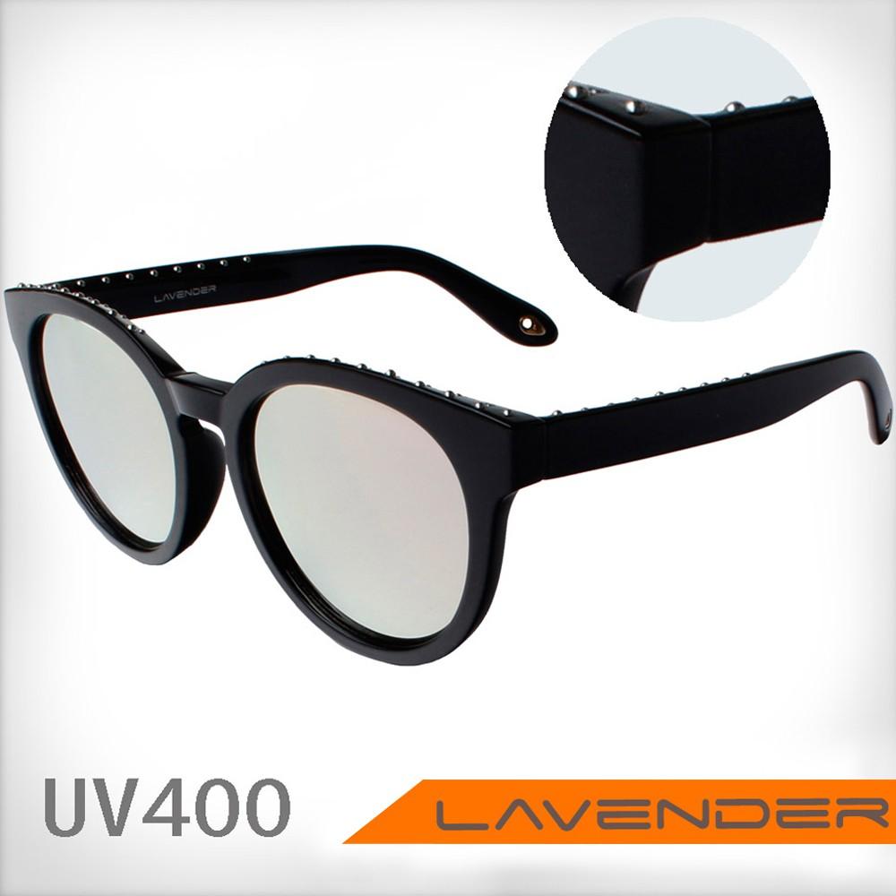 Lavender偏光片太陽眼鏡 8110 C7 粉水銀-男