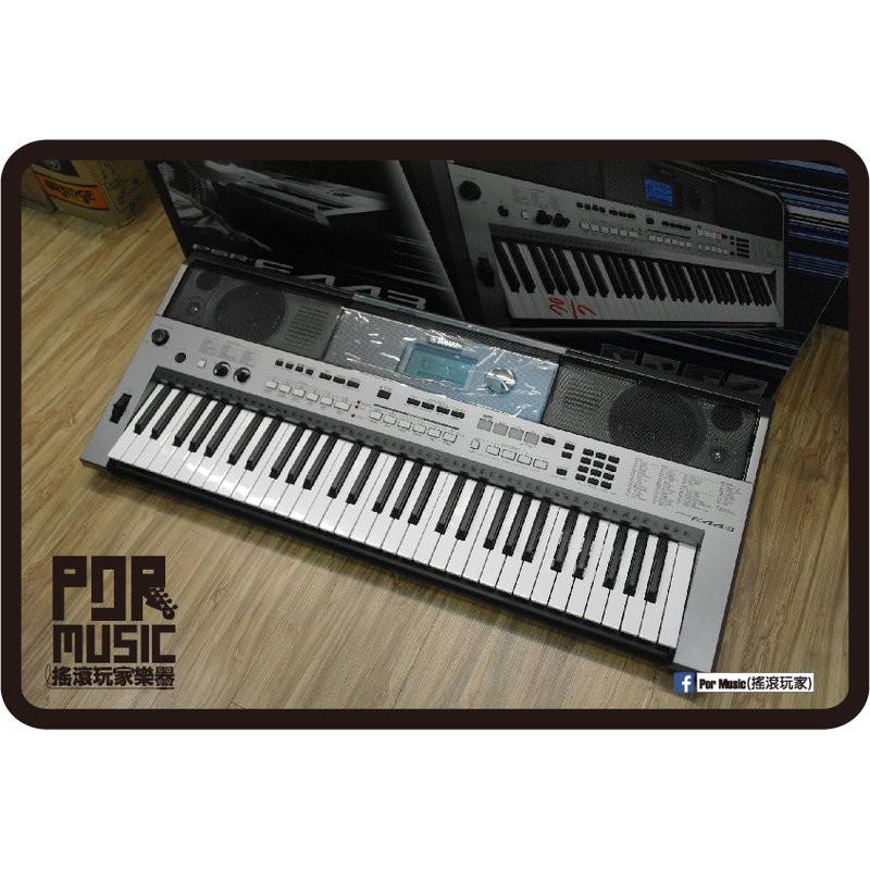 【搖滾玩家樂器】全新 YAMAHA 山葉 PSR-E443 電子琴 61鍵 KB PSR E443