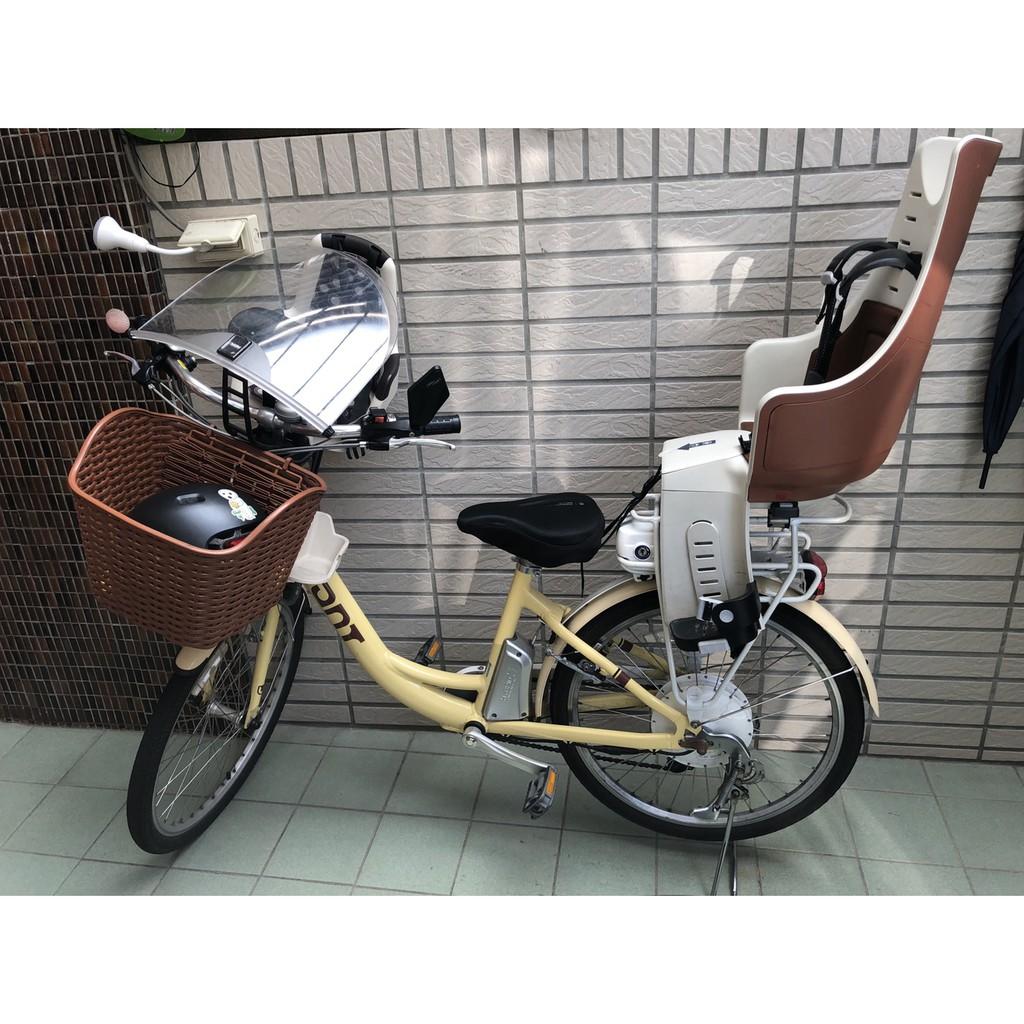 捷安特 GIANT EA401 電動腳踏車 含前後BOBIKE安全椅 BOBIKE擋風板
