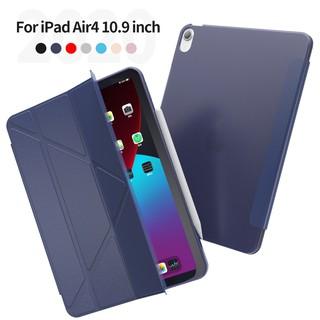 [現貨] Apple iPad Air4 10.9吋TPU背蓋Y型三角折疊保護皮套 新北市