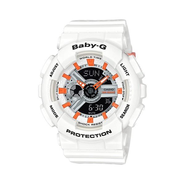 【CASIO】卡西歐Baby-G系列 防水100米耐衝撞運動錶款 BA-110PP-7A2 宏崑時計 台灣卡西歐保固一年