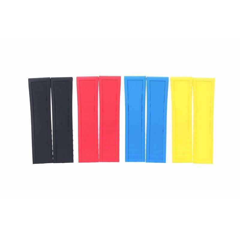 【正品】適用于百年靈Breitling復仇者挑戰者防水硅膠手表帶黑黃藍紅22mm