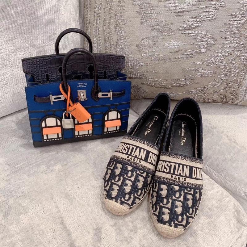 Dior 刺繡老花漁夫鞋 看了不後悔