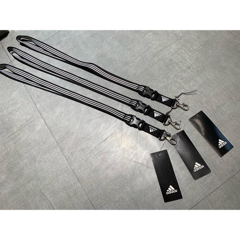 adidas 愛迪達 阿迪達斯 證件帶 黑色 條紋 三條線 ED1757