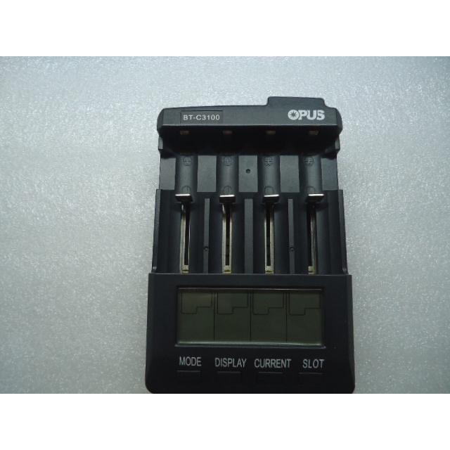 OPUS BT-C3100 BC3100 多功能智能鋰電鎳氫充電器18650 26650 18650充電器 26650