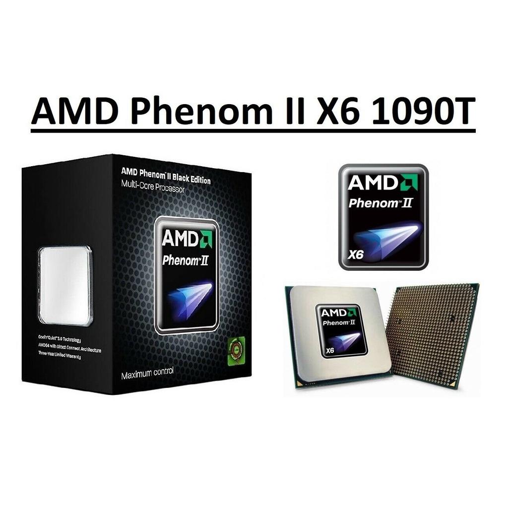 【新品折扣1000免運】Amd Phenom II X6 1090T 3.2 GHz 六核 HDT90ZFBK6DGR