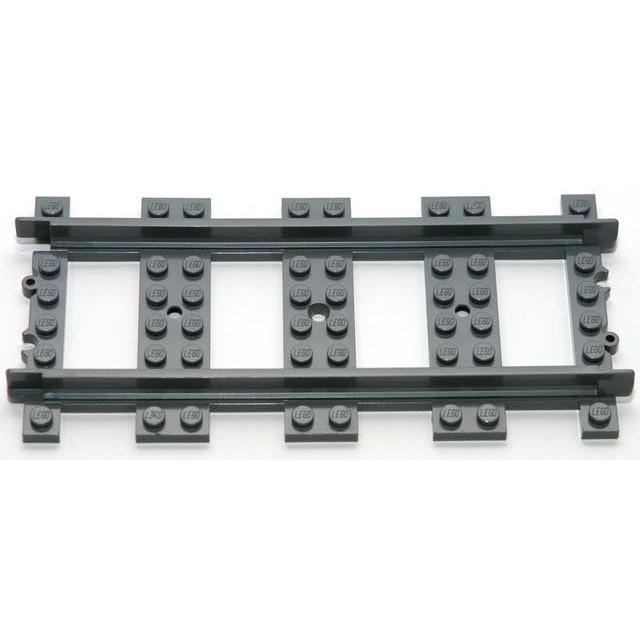 LEGO 樂高 全新裸裝直軌一個 適用 7938 7939 10194 10219 60051 60052 鐵軌