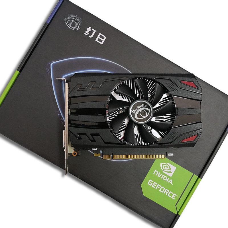 【熱銷】全新 GTX1050Ti/GT1030 4G獨顯 itx短卡電腦吃雞游戲高清獨立顯卡