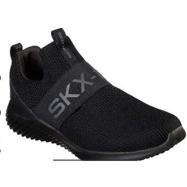 保證正品~夯款男鞋專櫃同步Skechers 52506W BBK透氣網布脚套功能男鞋時尚運動休閒鞋