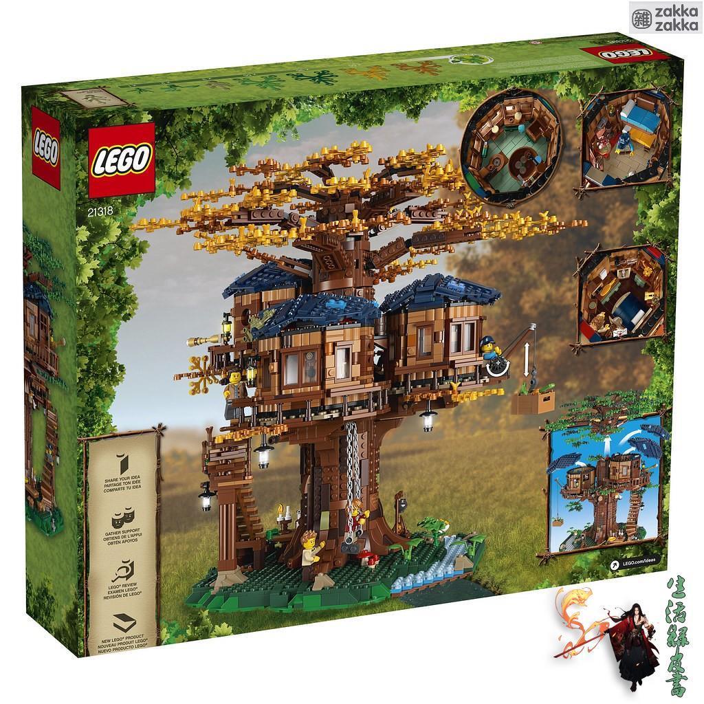 ✨zakka zakka 雜貨鋪✨樂高 LEGO 21318 盒況隨機 全新未拆 Ideas 樹屋