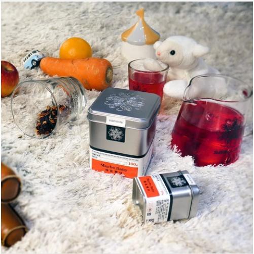 『亞杰國際』#防疫#增加身體防護力SAMOVA德國有機水果茶(莓比寶貝)馬口鐵20g
