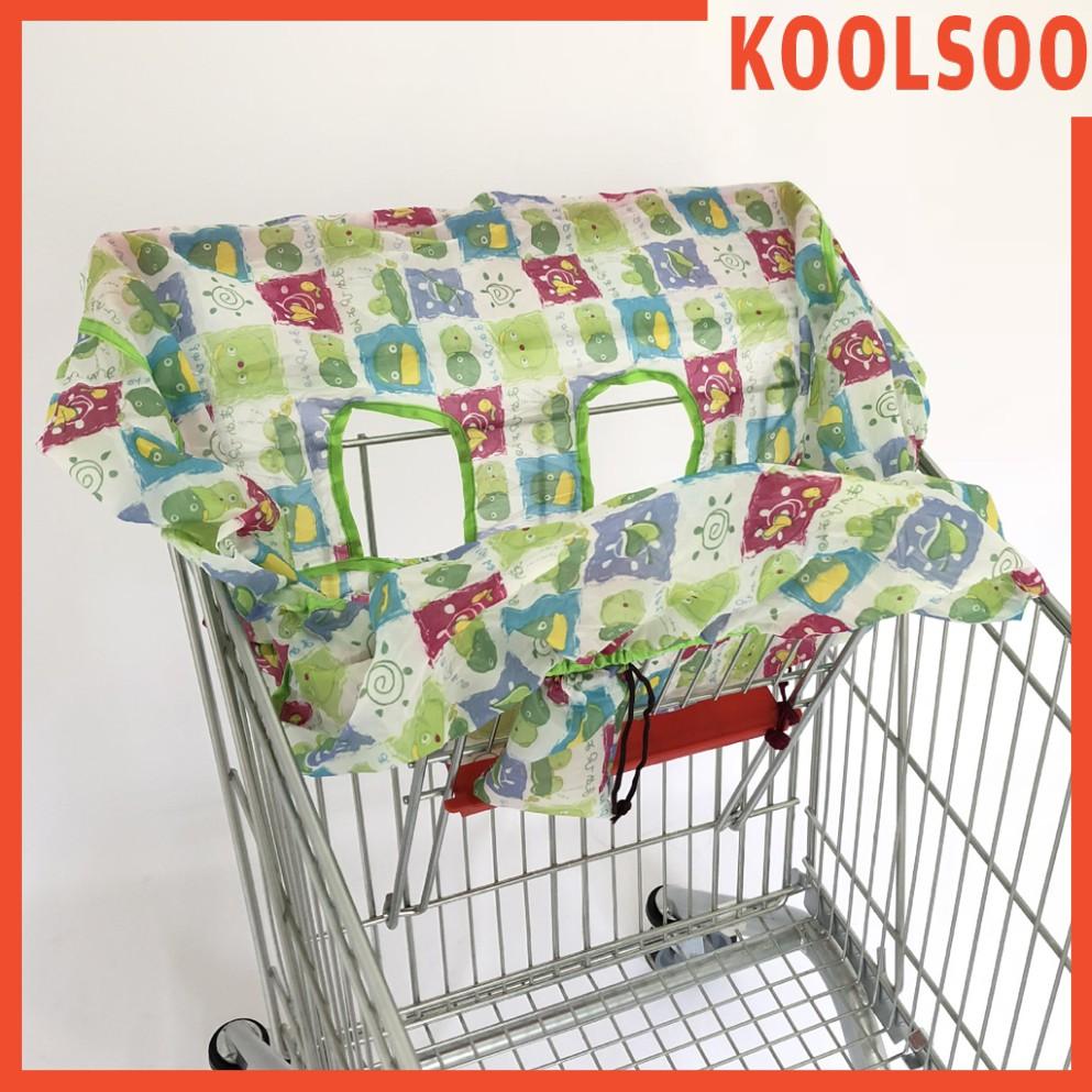 【KOOLSOO】嬰兒購物車坐墊椅座套防髒