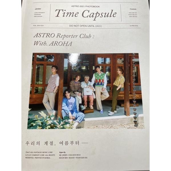 ASTRO Time  Capsule 2021寫真書
