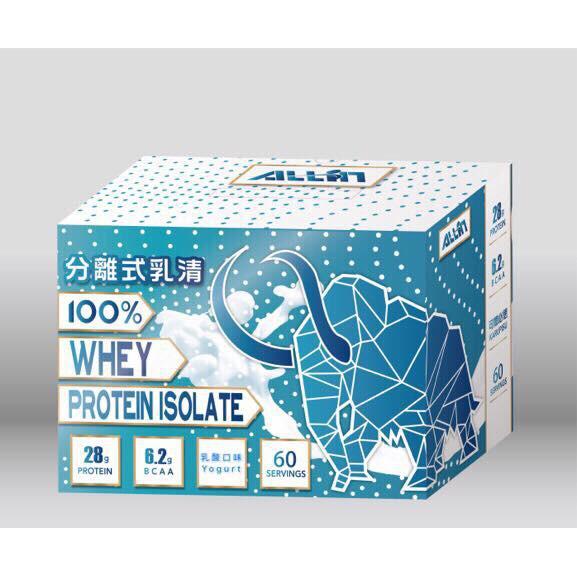 ALL IN純分離乳清蛋白~ 乳酸口味  蝦皮購物