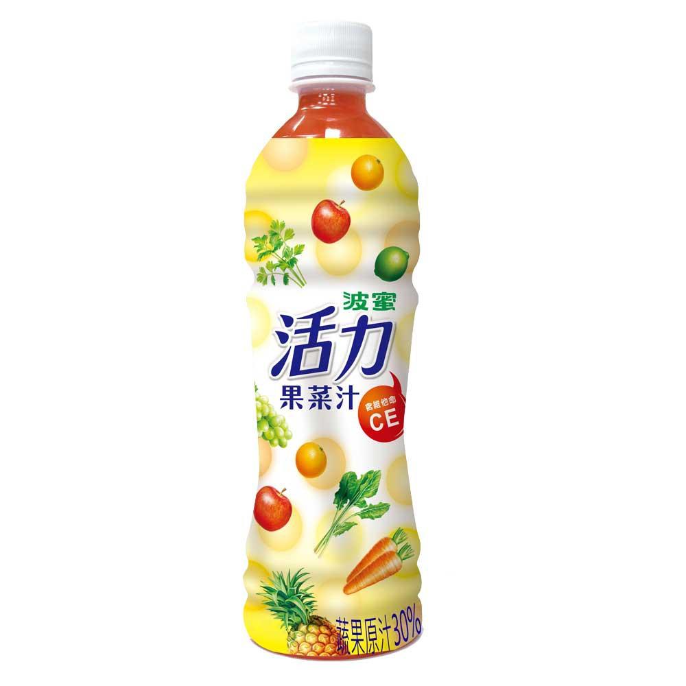 【波蜜】活力果菜汁 495gX24瓶/箱