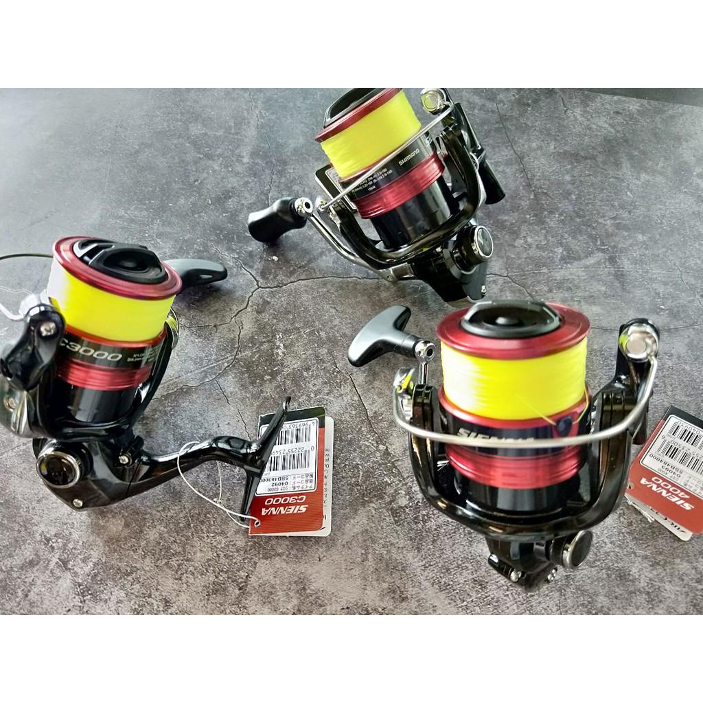 公司貨 SHIMANO SIENNA 捲線器 新版 紡車式捲線器 1000型 2000型 2500型 海釣 磯釣 海釣場