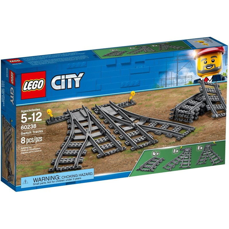玩樂趣 LEGO樂高 60238  Switch Tracks 全新盒組
