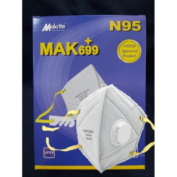 (非醫療)SEKURA 699 摺疊式N95口罩-帶氣閥+活性碳