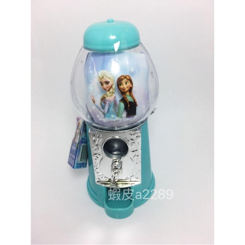 限時降價-日本迪士尼 官方 Elsa Anna Frozen 冰雪奇緣 迷你扭蛋機 糖果機 轉蛋機 存錢罐雪寶