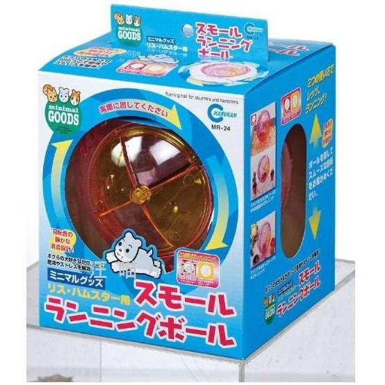 ☆汪喵小舖2店☆ 日本 MARUKAN 鼠鼠專用趣味運動滾球 MR-24 直徑14公分