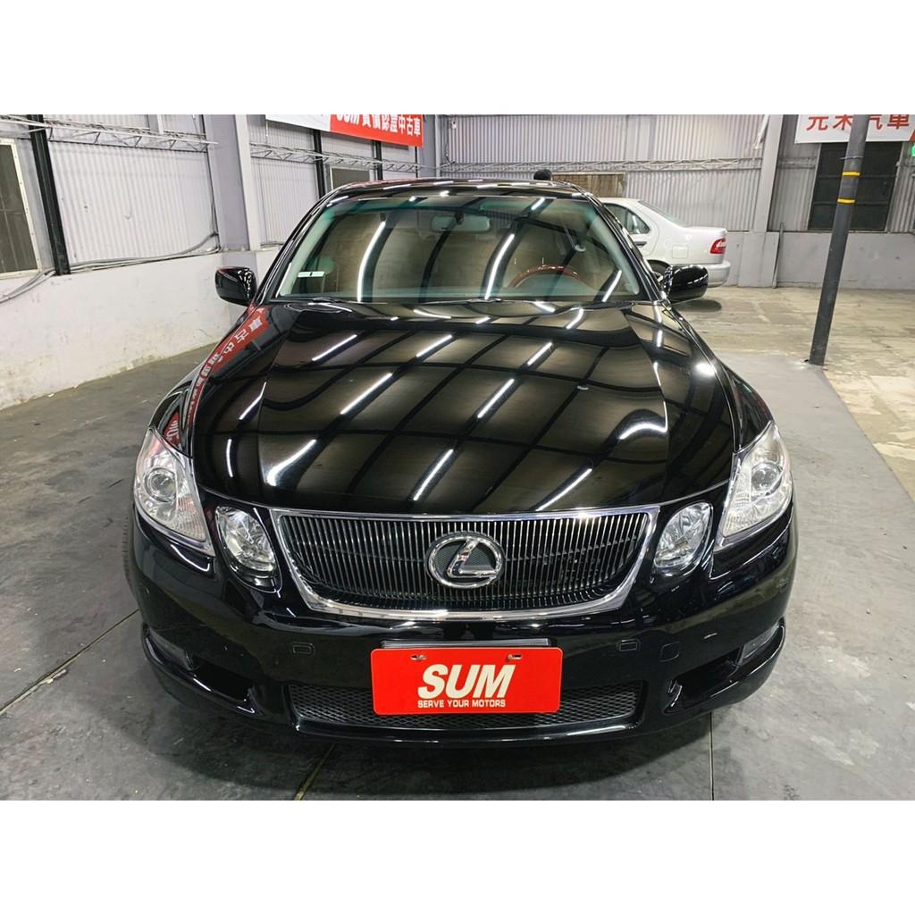 正2007年 Lexus  ES350超貸 找錢 實車實價 全額貸 一手車 女用車 非自售 里程保證 原版件