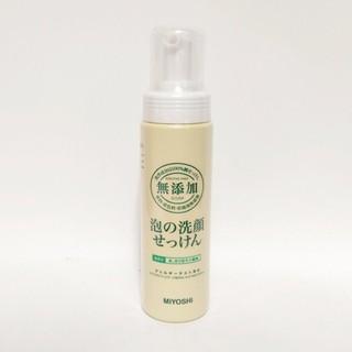日本 MiYOSHi 無添加 泡沫洗面乳洗顏乳 200ml 新竹縣