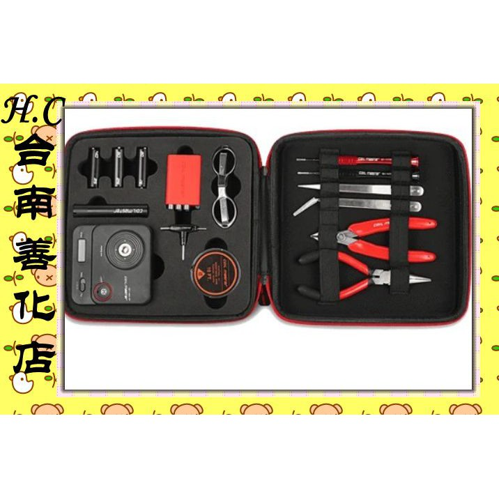 H.C台南善化Coil Master Diy kit V3 大工具包 (綁線神器 歐姆機 斜口鉗 陶瓷夾 尖鑷子 剪刀)