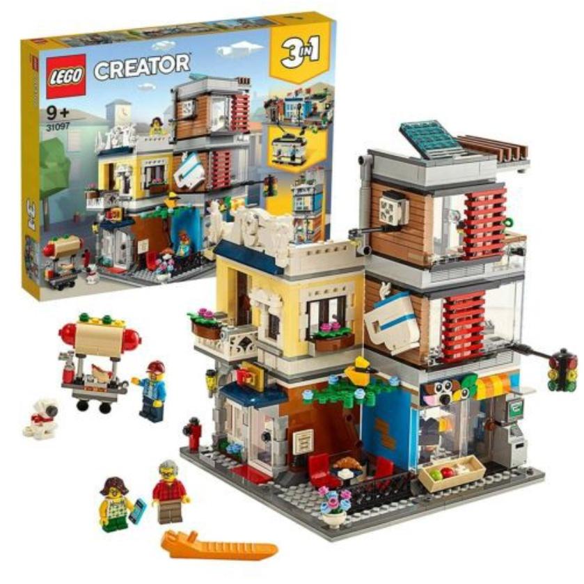 自售LEGO 31097 寵物店與咖啡廳