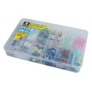 315百貨~ 輕鬆收納~TFS012 TFS-012 看的見12格收納盒*1入組 /零件盒 分類盒 整理盒 手作項鍊收納