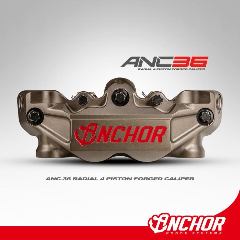 【ANCHOR】銨科官方商城 ANC-36 鍛造 大輻射 對四 卡鉗 輻射卡鉗 對四卡鉗 重機