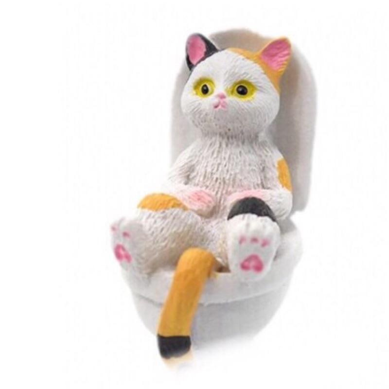 YELL 轉蛋 扭蛋 便器貓 貓咪如廁時光 上廁所 貓 喵星人 貓咪 馬桶 廁所貓