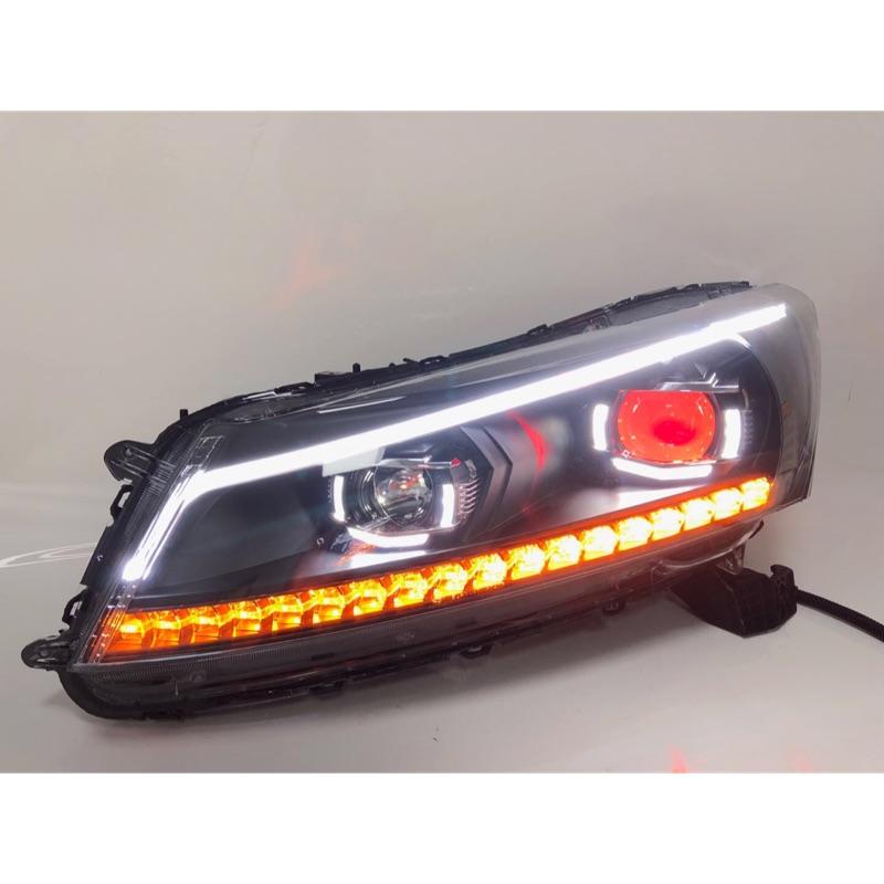 Honda Accord 雅歌 雅閣 8代 八代 K13 08-13 跑馬 魚眼大燈 喜美