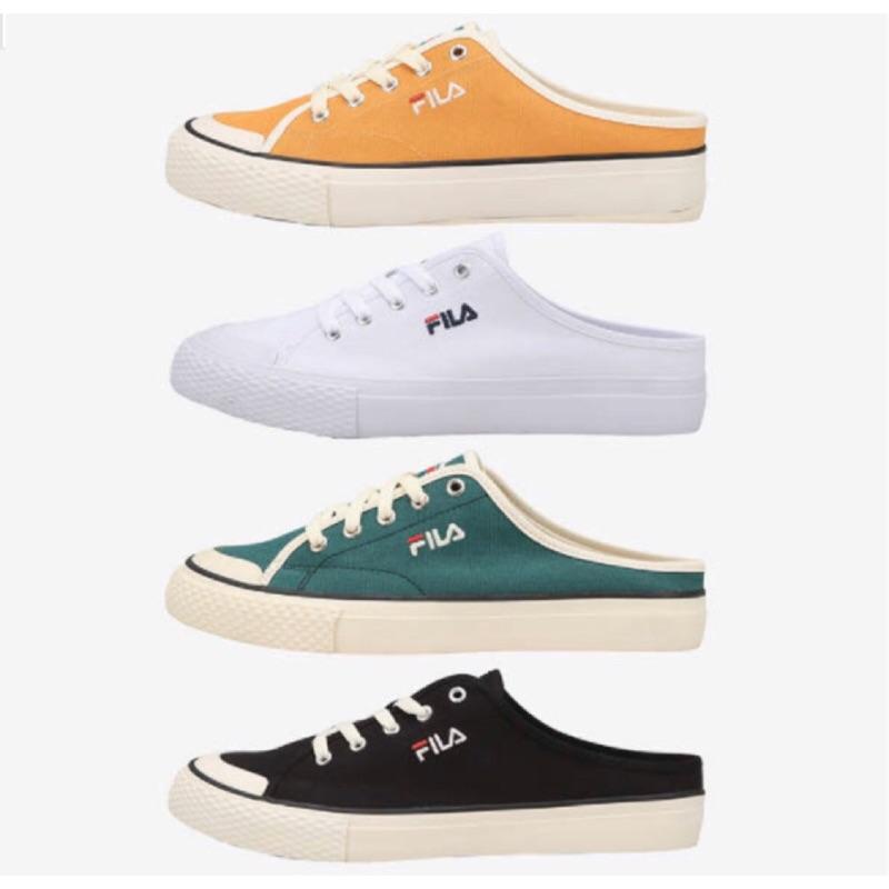 🇰🇷✈️韓國代購正品《現貨+預購》FILA  CLASSIC KICKS Mule 韓國金裕貞 穆勒鞋/懶人鞋
