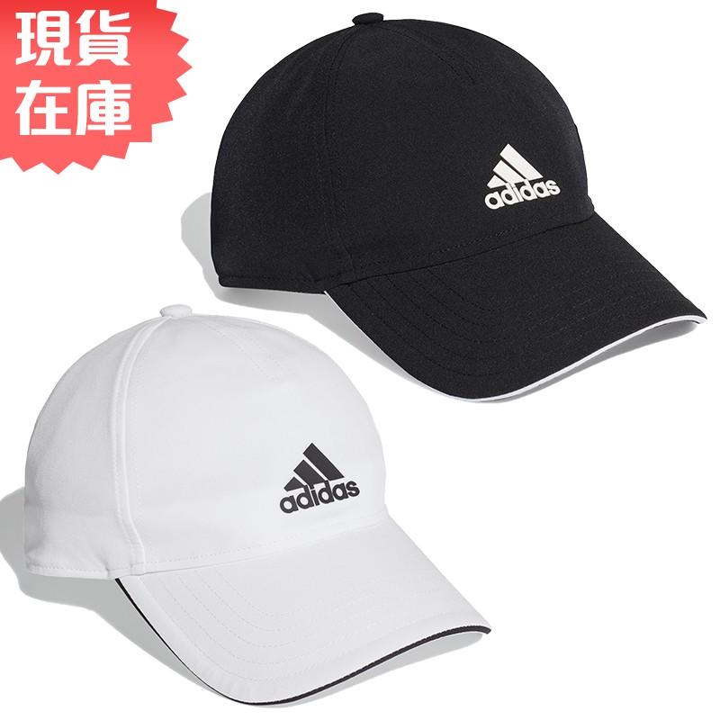 Adidas AEROREADY 帽子 老帽 休閒 網球 排汗 白/黑【運動世界】FK0878 / FK0877